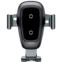 Baseus Metal Wireless Charger Gravity Car Mount(Air Outlet Version)