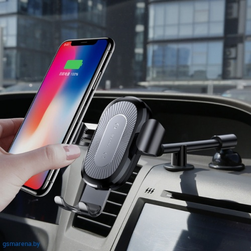 Baseus Wireless Charger Gravity Car Mount фото 6