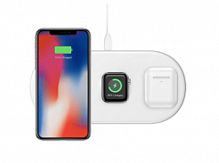 Baseus Smart 3in1 Wireless Charger Белый